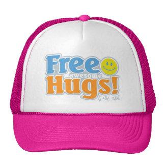 ¡Abrazos impresionantes libres! Gorras