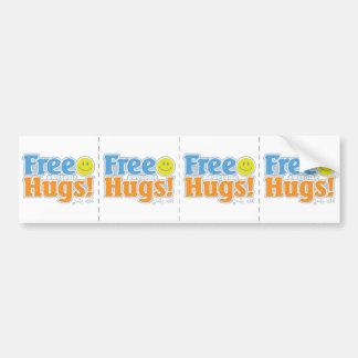 ¡Abrazos impresionantes libres! Pegatina Para Auto