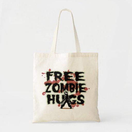 Abrazos libres del zombi bolsa tela barata