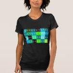 ¡Abrazos y besos del ╳◯╳◯! Mujeres negras de la Camisetas