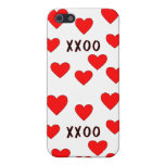 Abrazos y besos iPhone 5 cárcasa