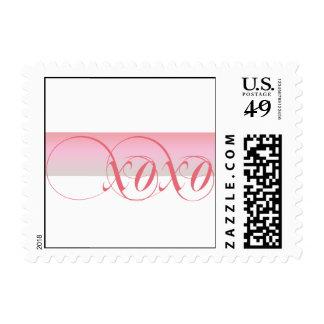 Abrazos y besos que casan franqueo timbres postales