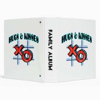 "Abrazos y besos XO Carpeta 1 1/2"""