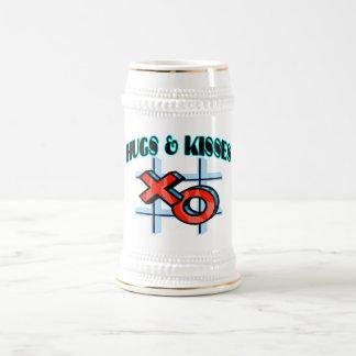 Abrazos y besos XO Jarra De Cerveza
