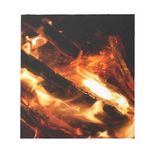 abre una sesión la fotografía de las llamas blocs