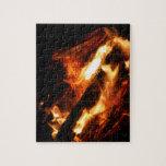 abre una sesión la fotografía de las llamas rompecabeza