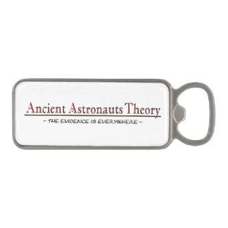 """Abrebotellas magnético """"de la teoría antigua de"""