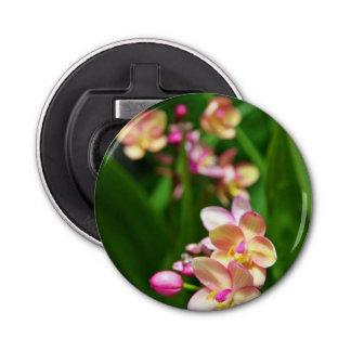 Abrebotellas magnético del Orchidaceae Abrebotellas Redondo