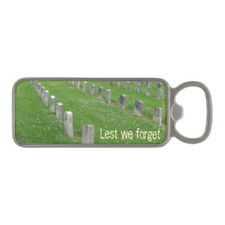 Abrebotellas militar del cementerio abrebotellas magnético