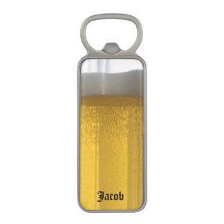 Abrebotellas personalizado de la cerveza abrebotellas magnético