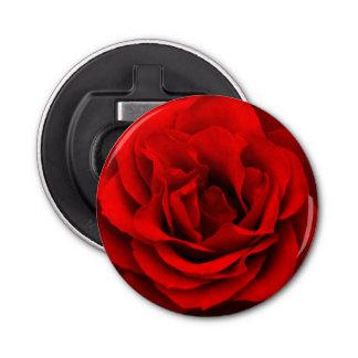 Abrebotellas Rosa-Redondo rojo del fuego Abrebotellas Redondo
