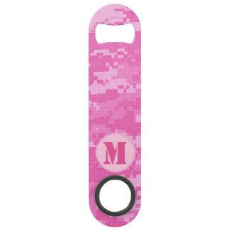 Abrebotellas rosado del camuflaje del ACU Camo del