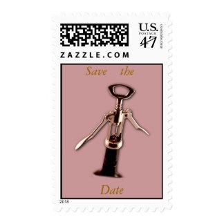 Abrelatas del vino timbres postales