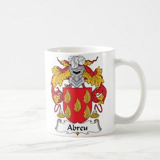 Abreu Family Crest Coffee Mug