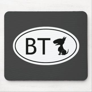 Abreviatura de bull terrier - BT Tapete De Ratón