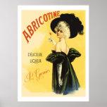 Abricotine (anuncios franceses restaurados del lic poster