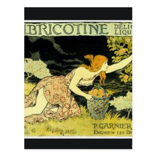 Abricotine de Eugène Grasset Tarjetas Postales