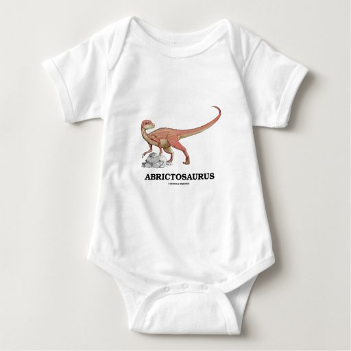 Abrictosaurus (Heterodontosaurid Dinosaur) Baby Bodysuit