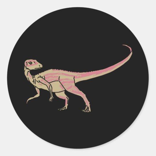 Abrictosaurus Jimmy Classic Round Sticker