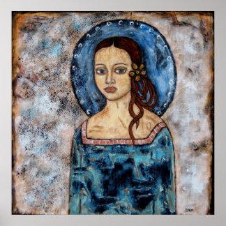 Abrienda - ángel - poster