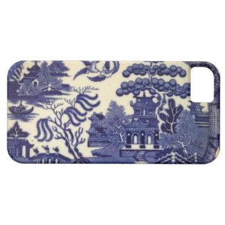 Abrigo azul de la placa de China del sauce del Funda Para iPhone SE/5/5s