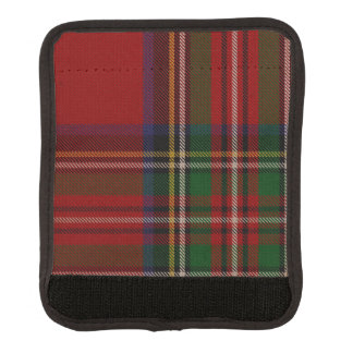 Abrigo real clásico de la manija del equipaje de l funda para asa de maleta