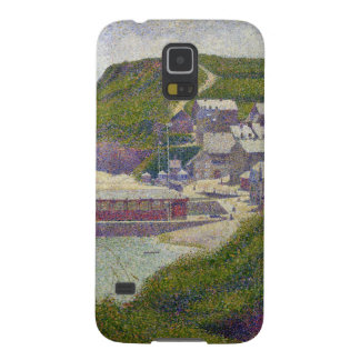 Abrigúese en el Puerto-en-Bessin en la alta marea, Carcasa De Galaxy S5