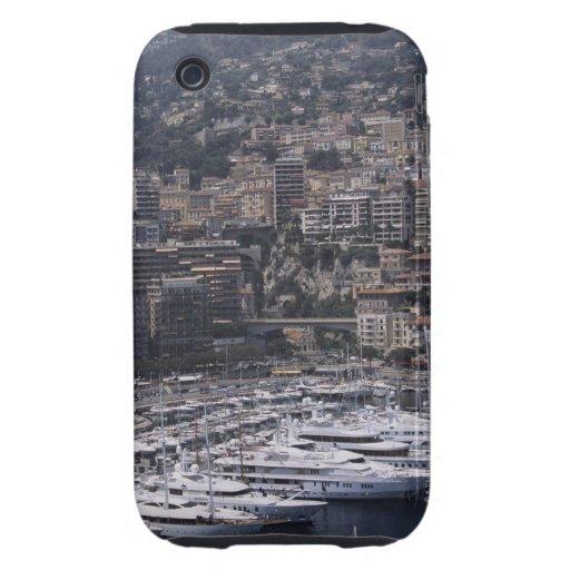 Abrigúese, visión vertical, Monte Carlo, francés Tough iPhone 3 Cárcasas