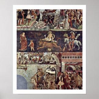 Abril [01] - Triumph del resumen de Venus Póster