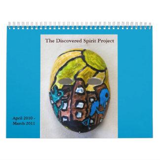 Abril de 2010-marzo de 2011 calendario