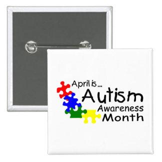 Abril es el mes de la conciencia del autismo (PP Pins