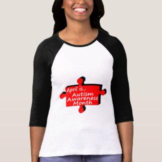 Abril es mes de la conciencia del autismo (el peda camiseta