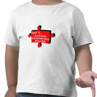 Abril es mes de la conciencia del autismo (el camisetas