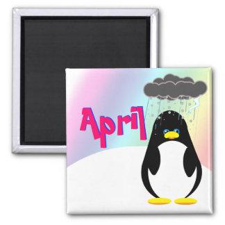Abril para hacer el imán de la lista (pingüino)