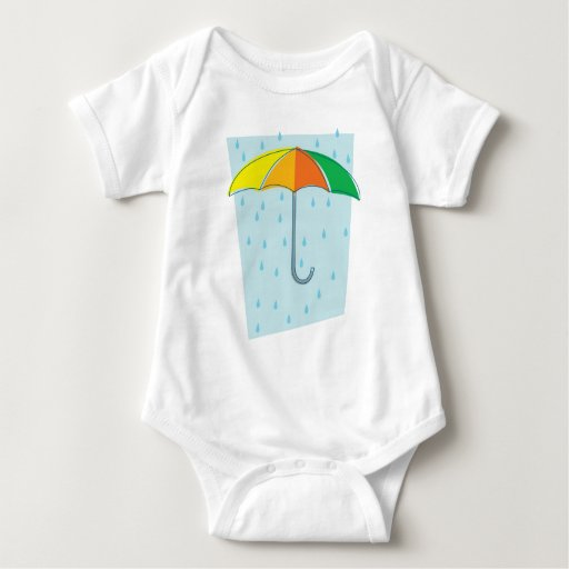 Abril riega el paraguas body para bebé