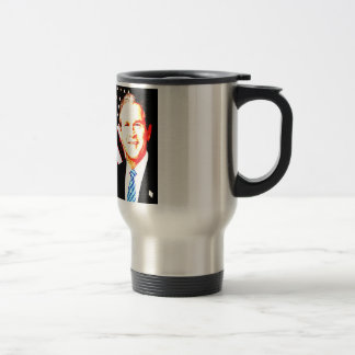 Abroad Our Nation Is Committed - G W Bush Travel Mug