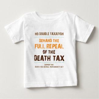 Abrogue el impuesto de muerte camisetas