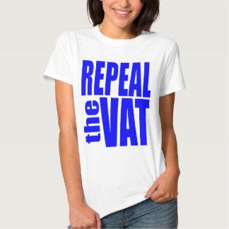 Abrogue el IVA Camisas
