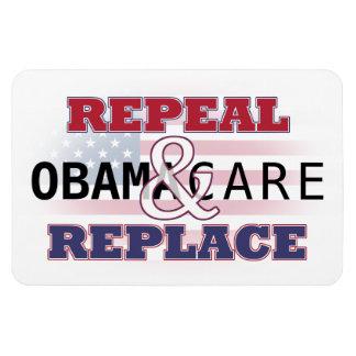 Abrogue y substituya el imán de Obamacare