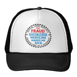 Abrogue y substituya gorras de camionero