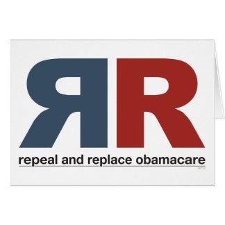 Abrogue y substituya Obamacare Felicitaciones