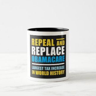 Abrogue y substituya Obamacare Tazas