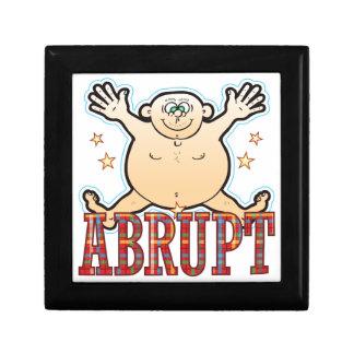 Abrupt Fat Man Gift Box