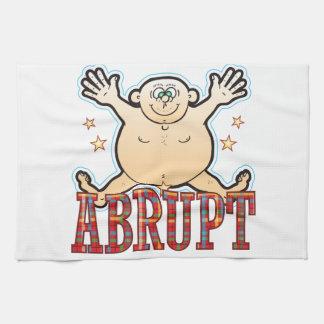 Abrupt Fat Man Hand Towel