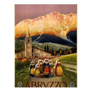 Abruzos Tarjeta Postal
