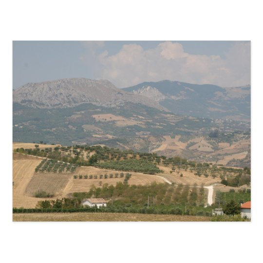 Abruzzi Postcard