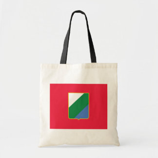 Abruzzo bandiera, Italy Canvas Bags