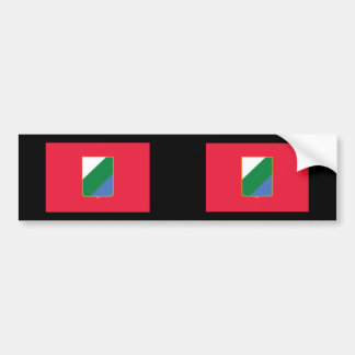 Abruzzo bandiera, Italy Bumper Stickers