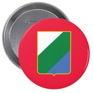 Abruzzo bandiera, Italy Button
