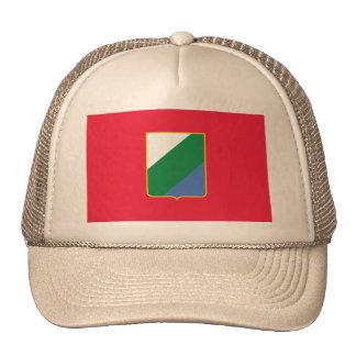 Abruzzo bandiera, Italy Hats